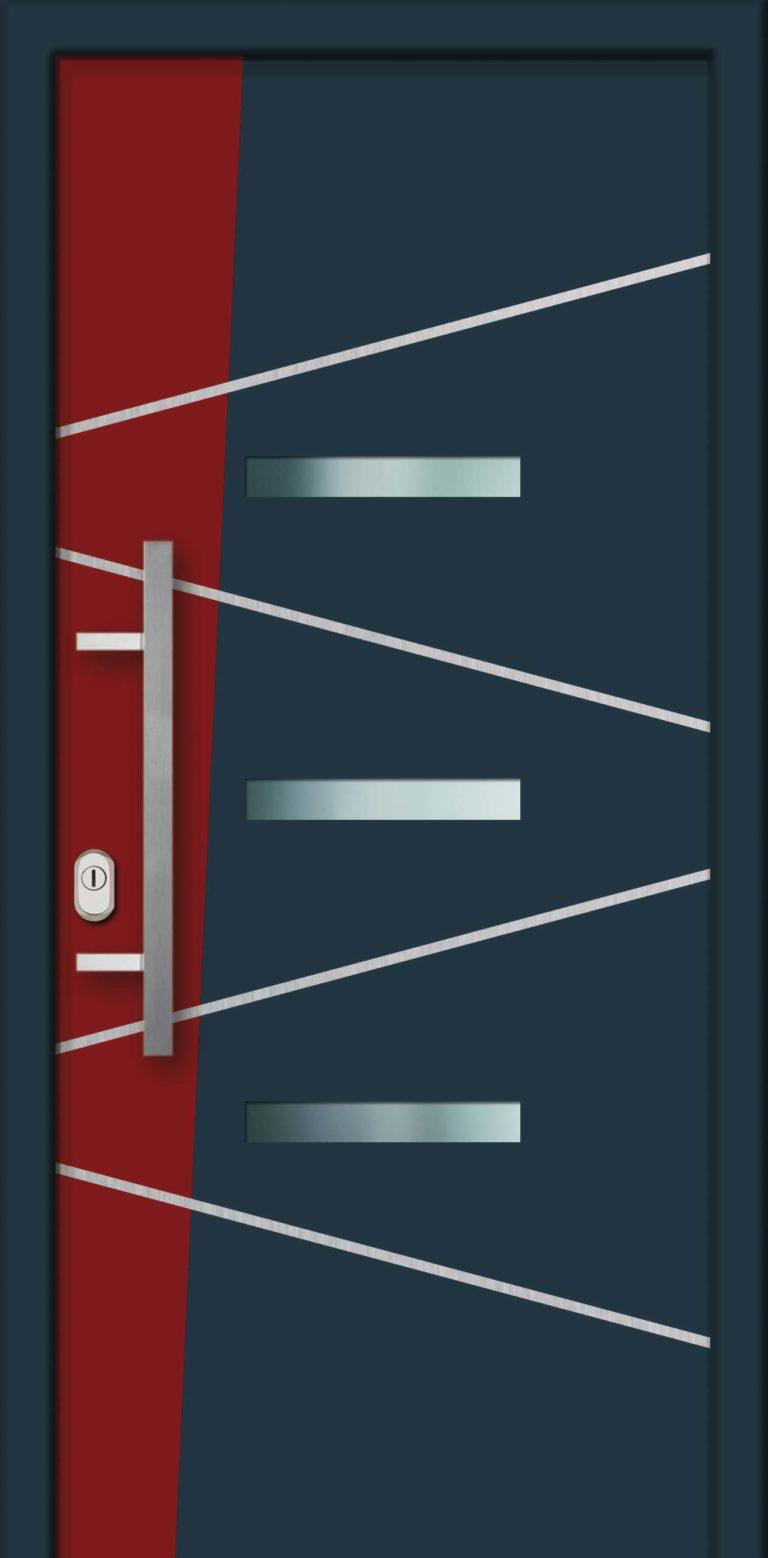 Hliníková dverová výplň AL770