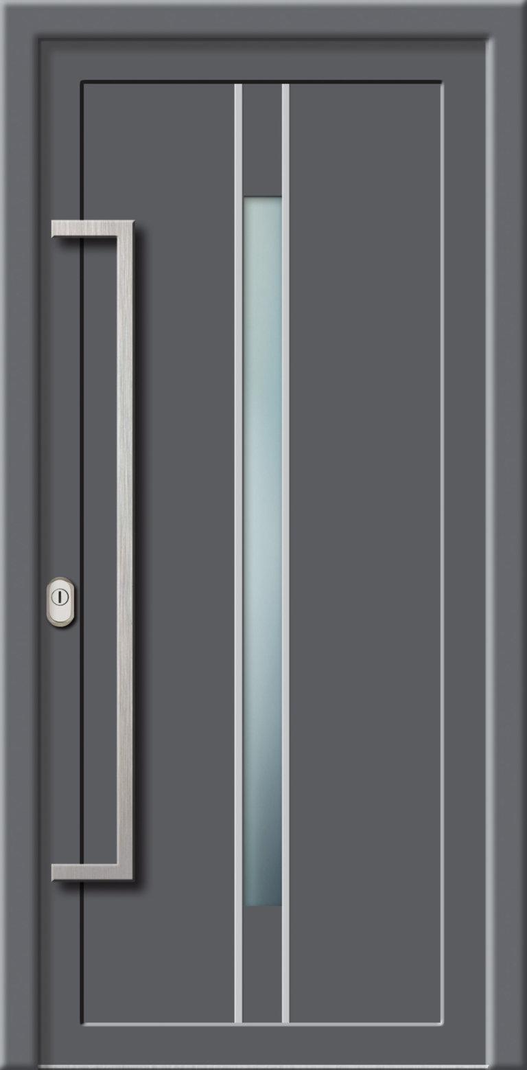 Hliníková dverová výplň AL716