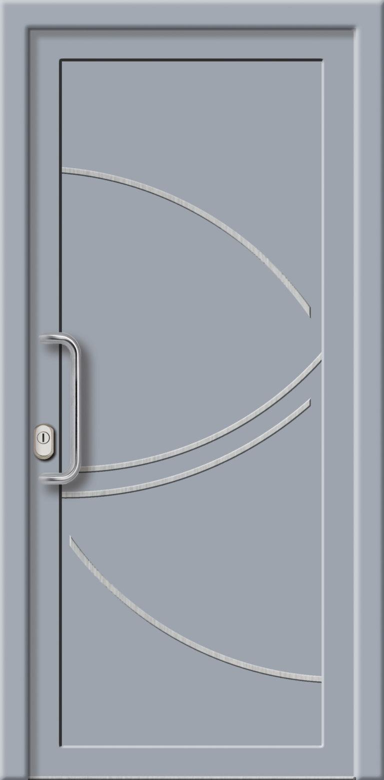 Hliníková dverová výplň AL743
