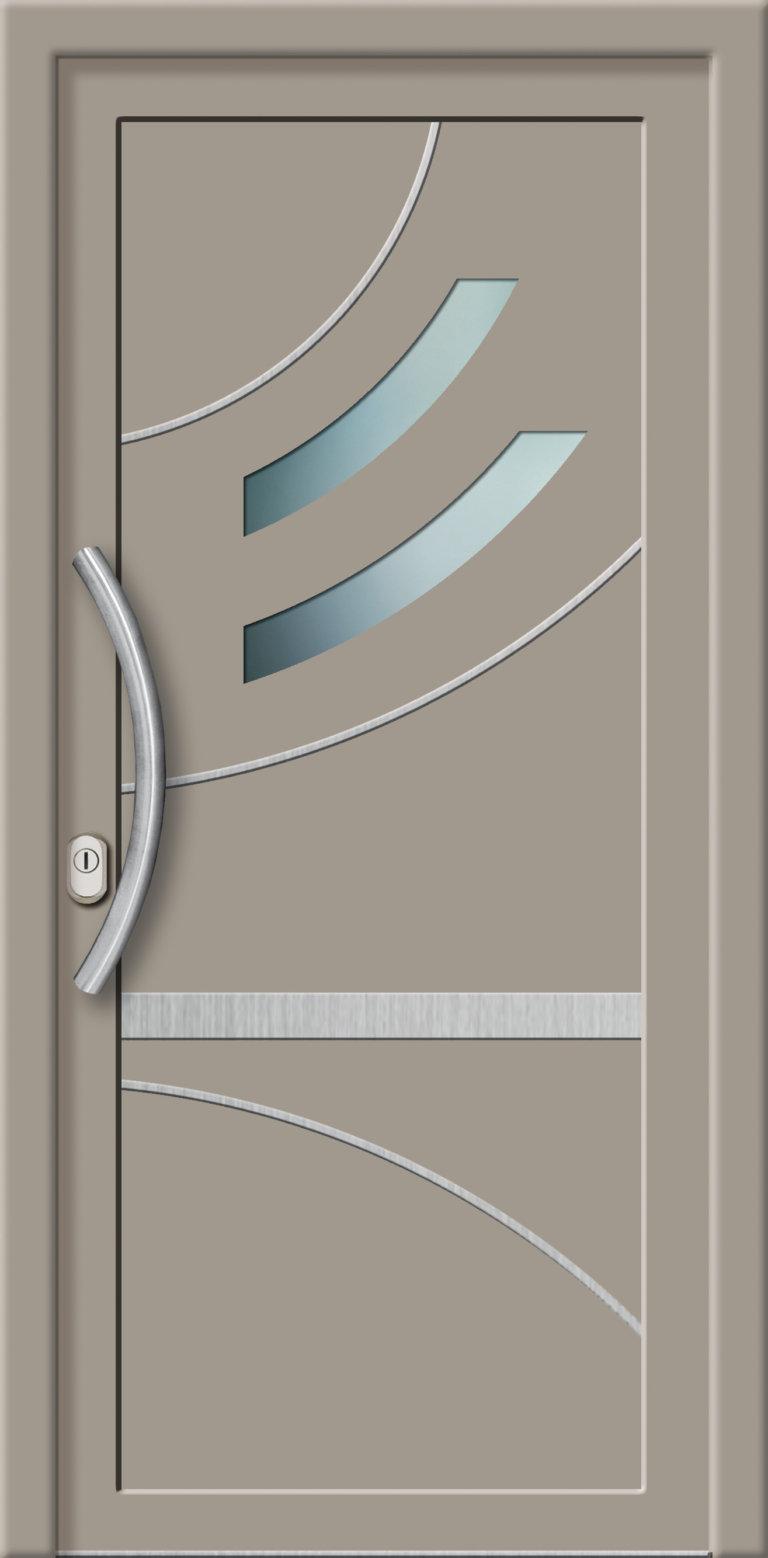 Hliníková dverová výplň AL762