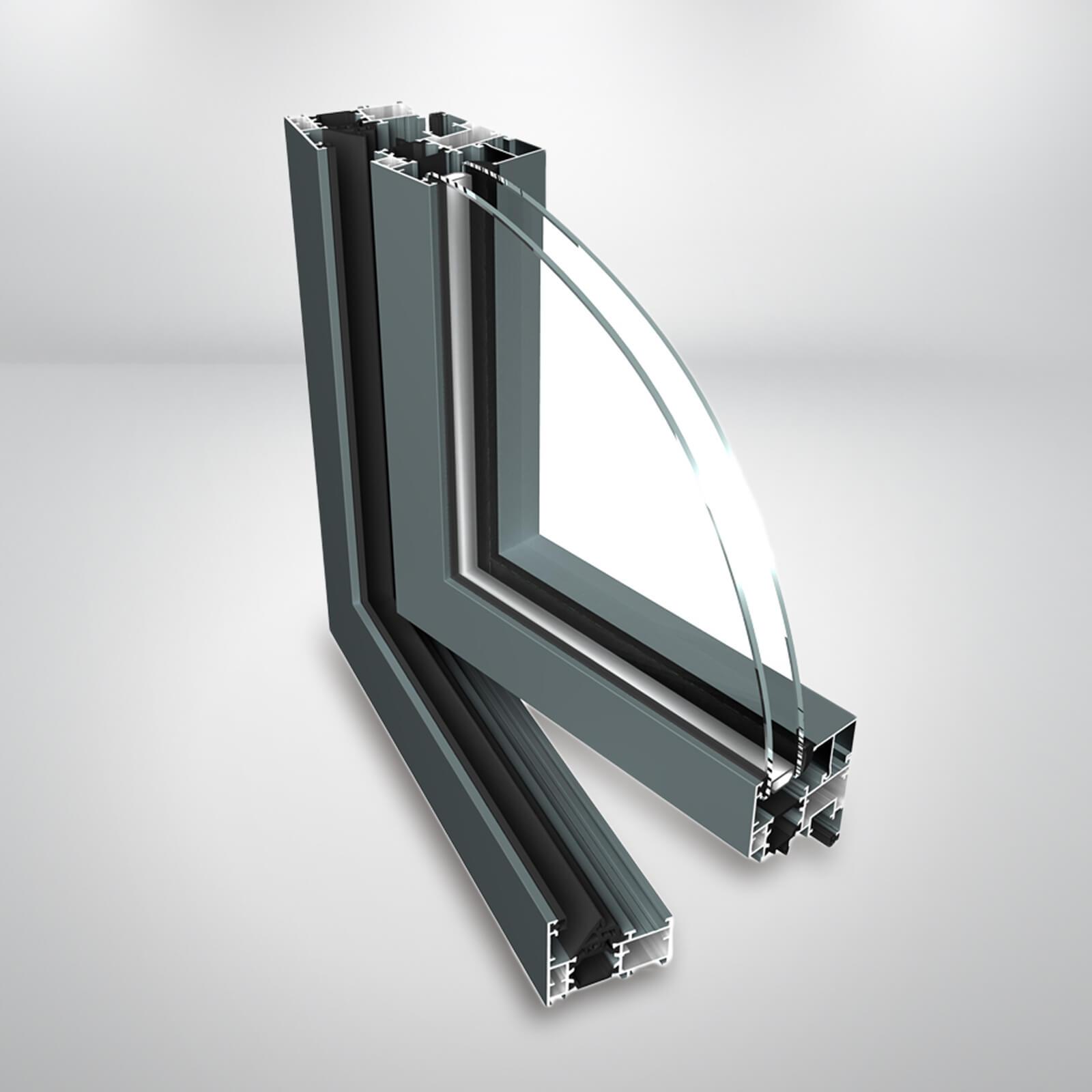 Hliníkové okno Ponzio PE60