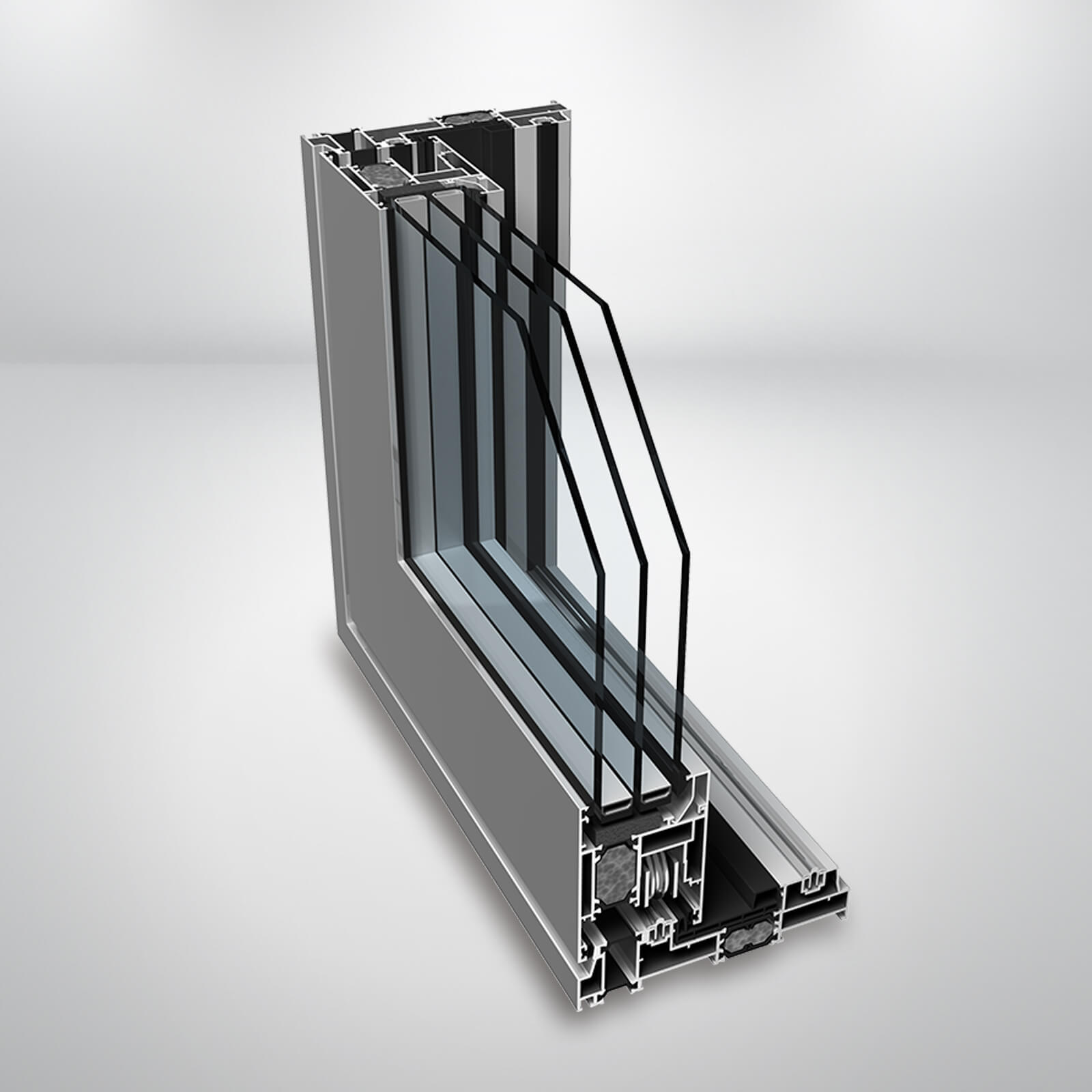 Hliníkové HST dvere SLIDING 1600 TT