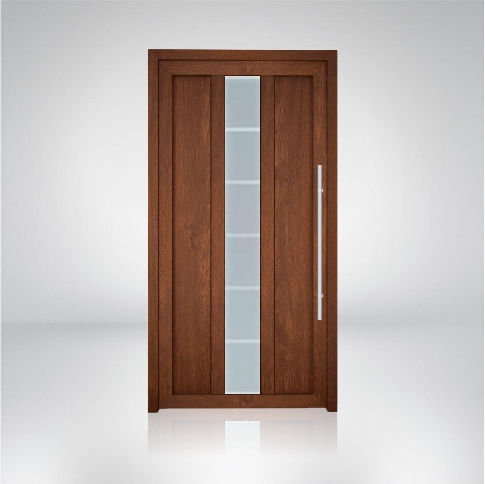 Plastové dvere vzorka S1