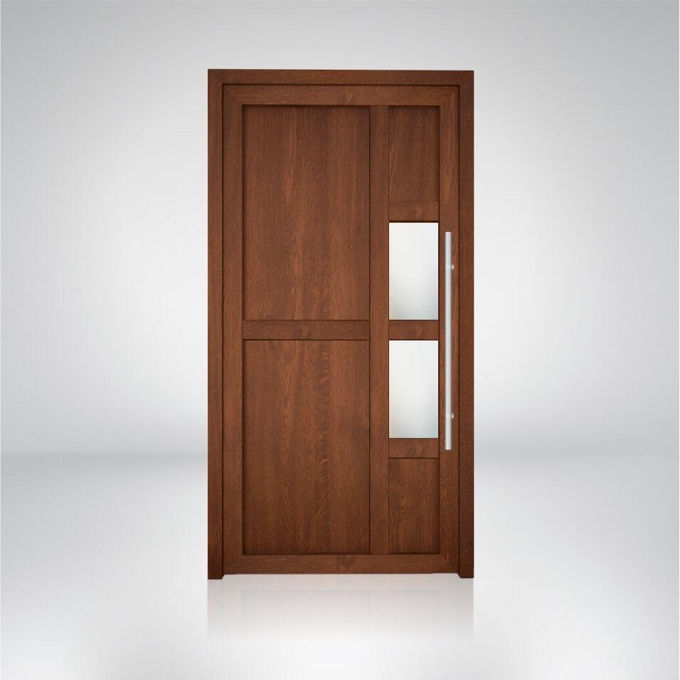 Plastové dvere vzorka S2