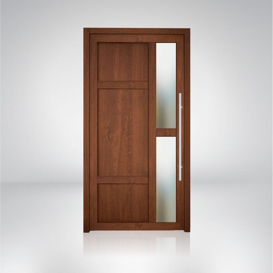 Plastové dvere vzorka S4