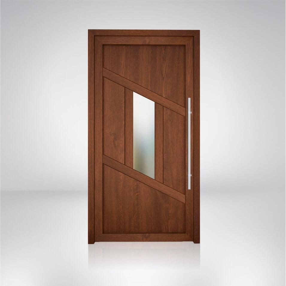 Plastové dvere vzorka S6